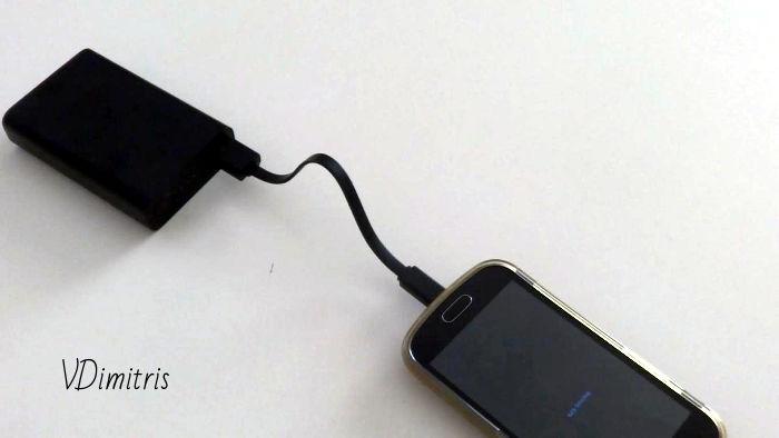 φορητός φορτιστής κινητού